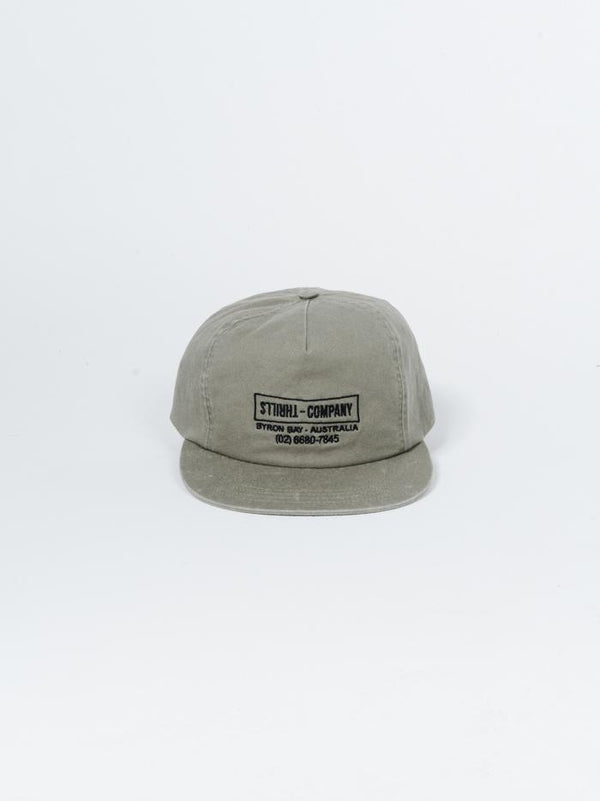Thrills Garage Cap - Army Fade
