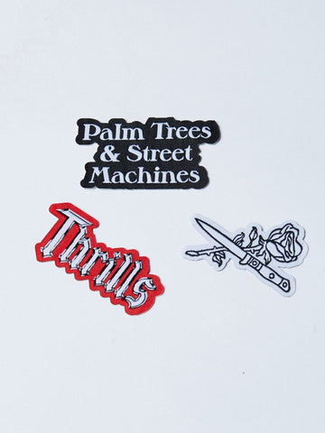 Dagger Patch Pack - ASSORTED - Thrills Co