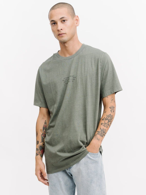 Mono Merch Fit Tee - Army Green