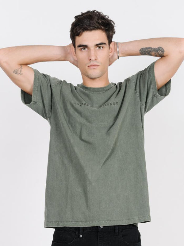 Dril Embro Merch Fit Tee - Army Green