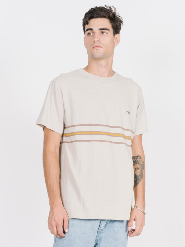 Los Stripe Merch Fit Tee - Peyote
