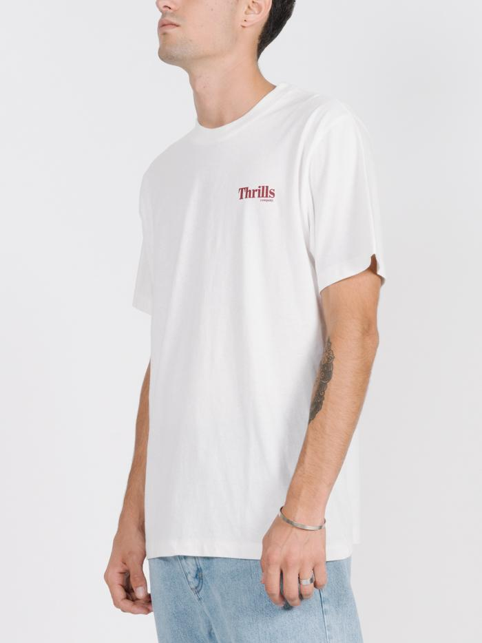 Cycles & Clothing Merch Fit Tee - Dirty White