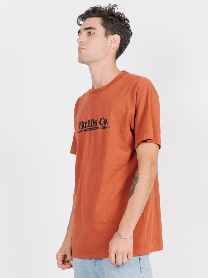 Speedline Merch Fit Tee - Rocker Red