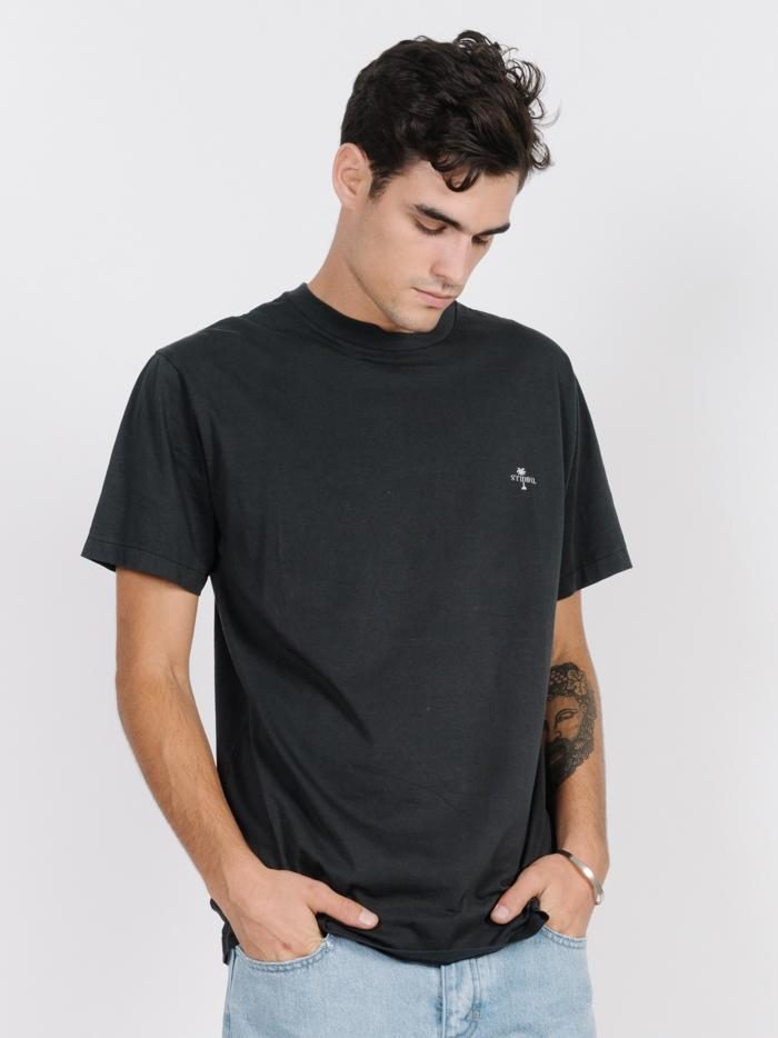 Thrills Paradise Merch Fit Tee - Heritage Black