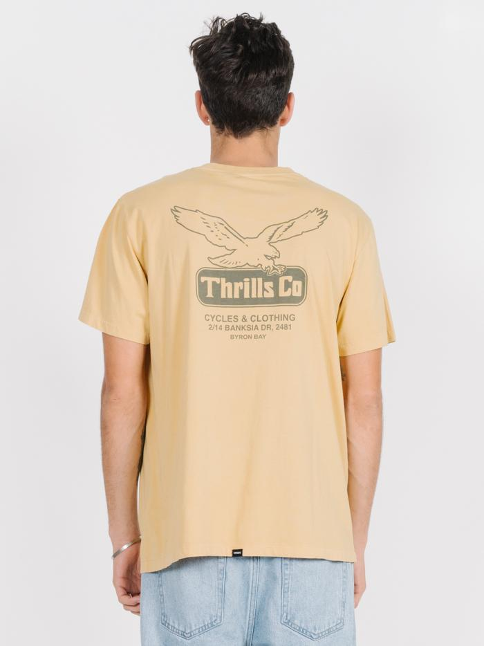 Landed Merch Fit Tee - Heritage Yellow