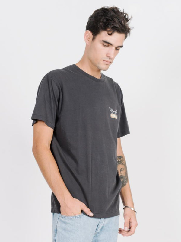 Landed Merch Fit Tee - Vintage Black