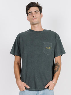 Hula Hell Merch Fit Pocket Tee - Merch Black