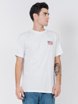Bay Rays Merch Fit Tee - White
