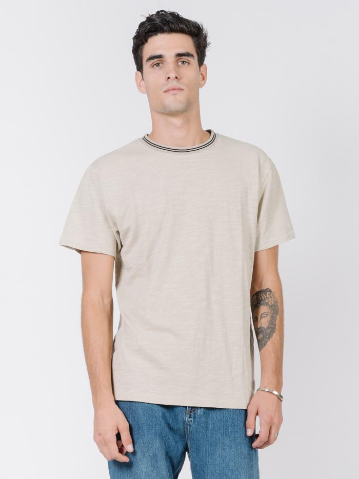 Spirit Of Thrills Ringer Tee - Peyote