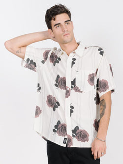 Rose Lens Short Sleeve Shirt - Dirty White