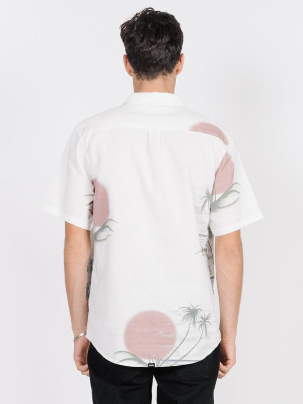 Aloha From Hell Short Sleeve Shirt - Natural