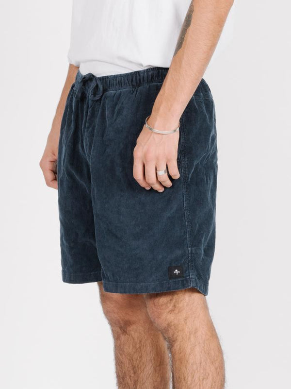 Stranded Short  - Washed Navy