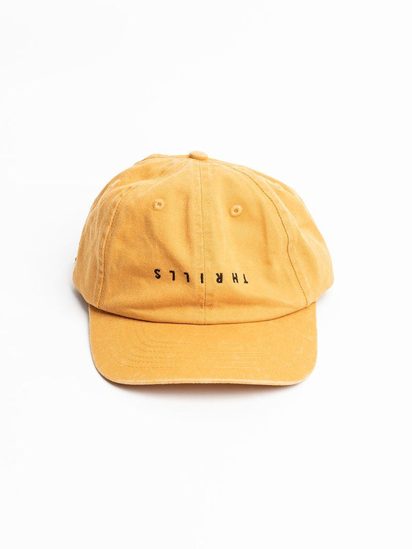 Minimal Thrills Cap - Sunlight Yellow