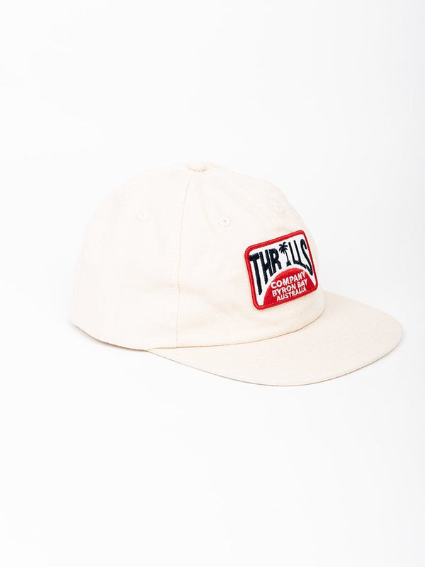 Bay Rays Snapback - Dirty White