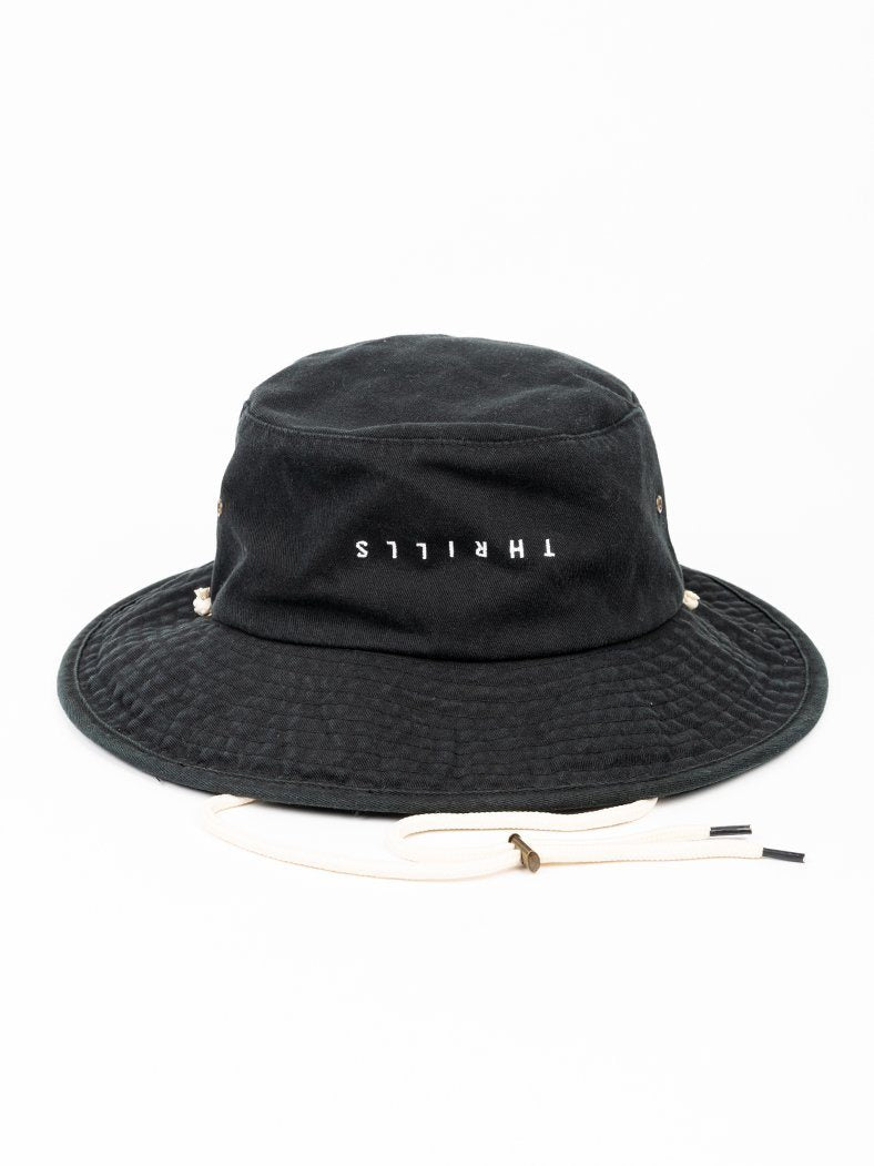 Minimal Boonie Hat - Merch Black