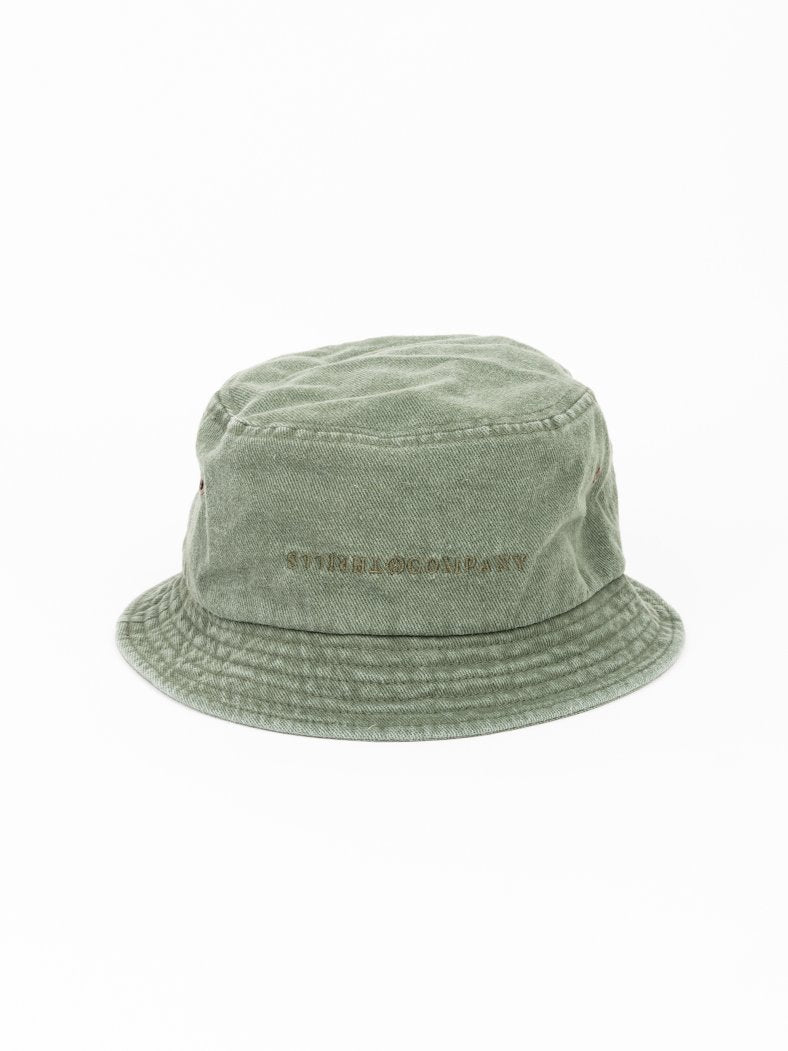 Stencil Bucket Hat - Army Green