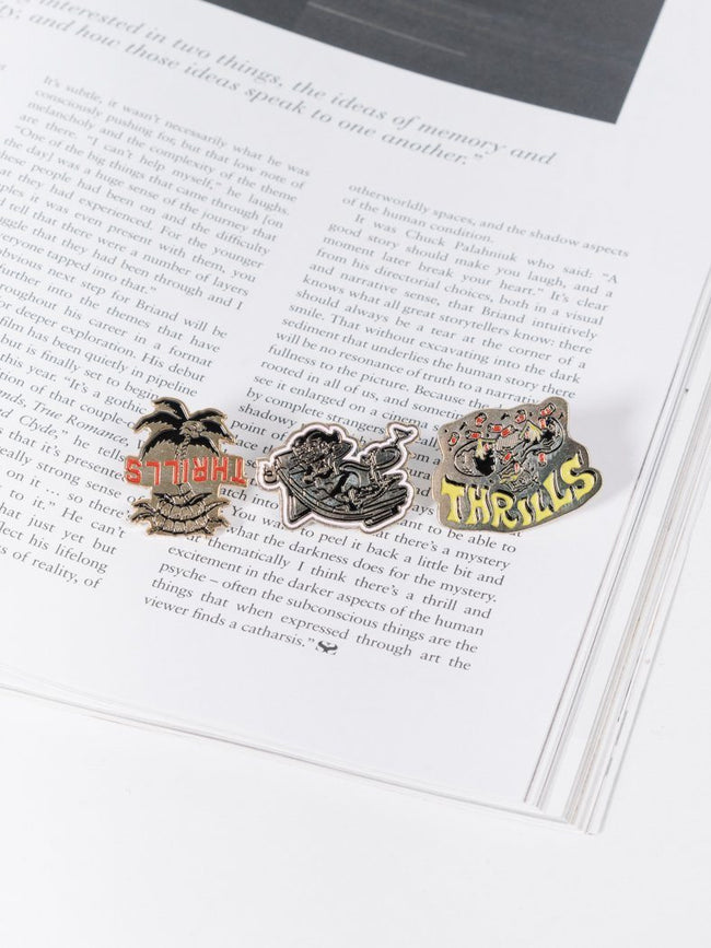 Dixon Enamel Pin Pack