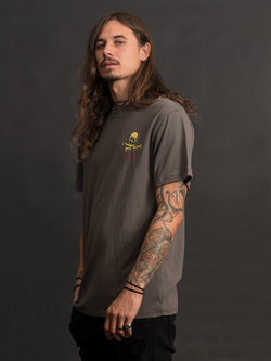Dead Illusion Tee - Darkest Grey