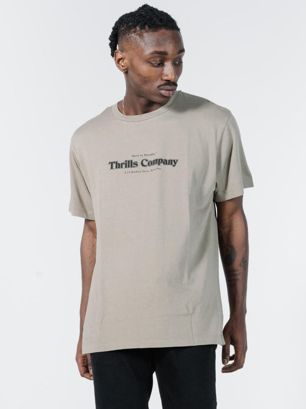 Company Pinline Merch Fit Tee - Timber Wolf