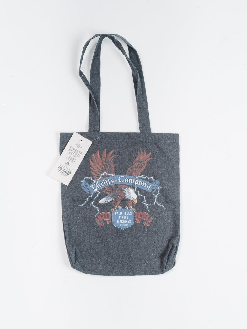 Electric Eagle Tote - Merch Black