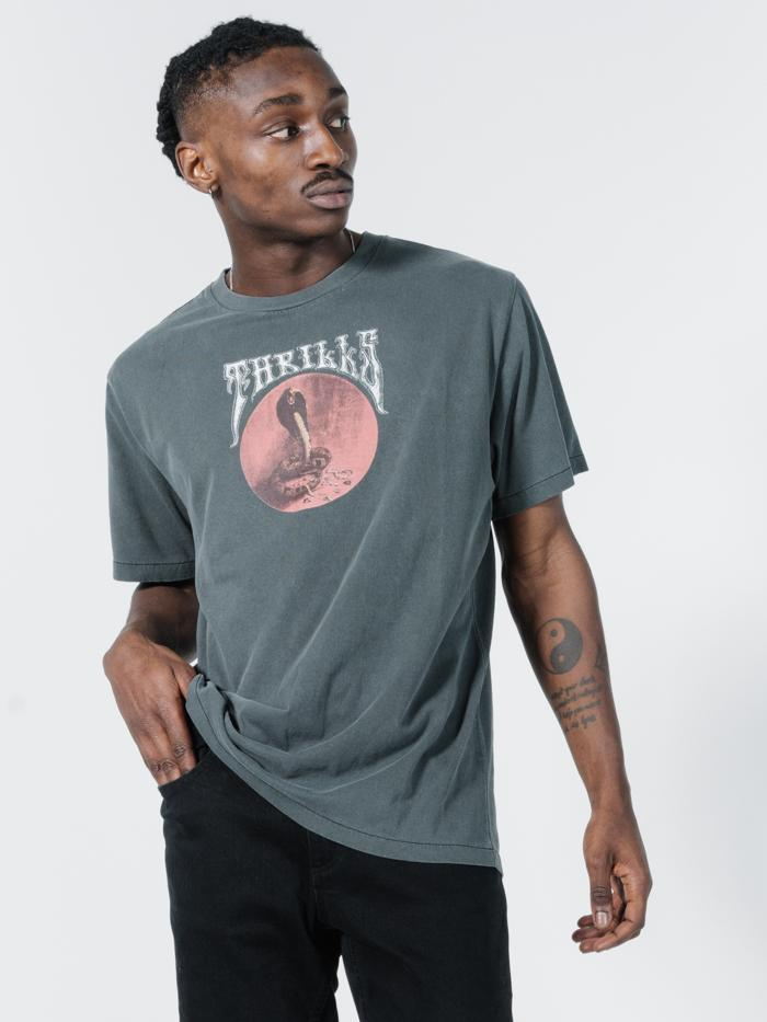 Hysteria Merch Fit Tee - Merch Black