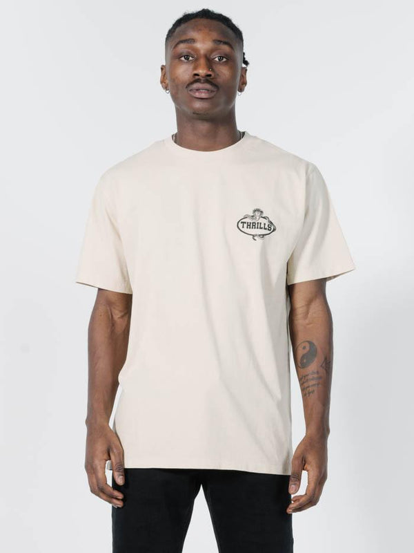 Never Not Broken Merch Fit Tee - Thrift White