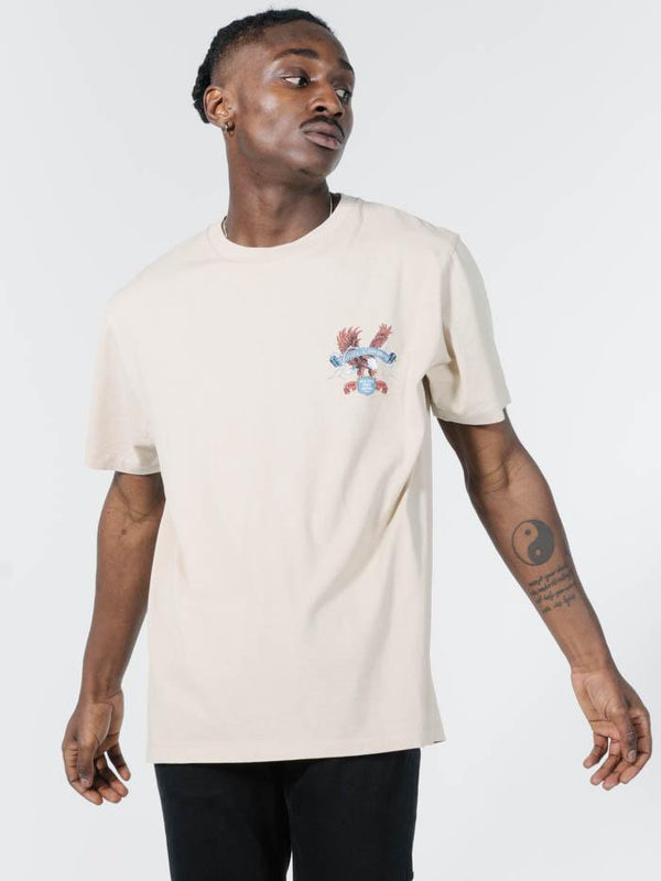 Electric Eagle Merch Fit Tee - Thrift White