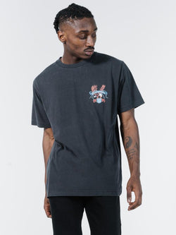Electric Eagle Merch Fit Tee - Heritage Black