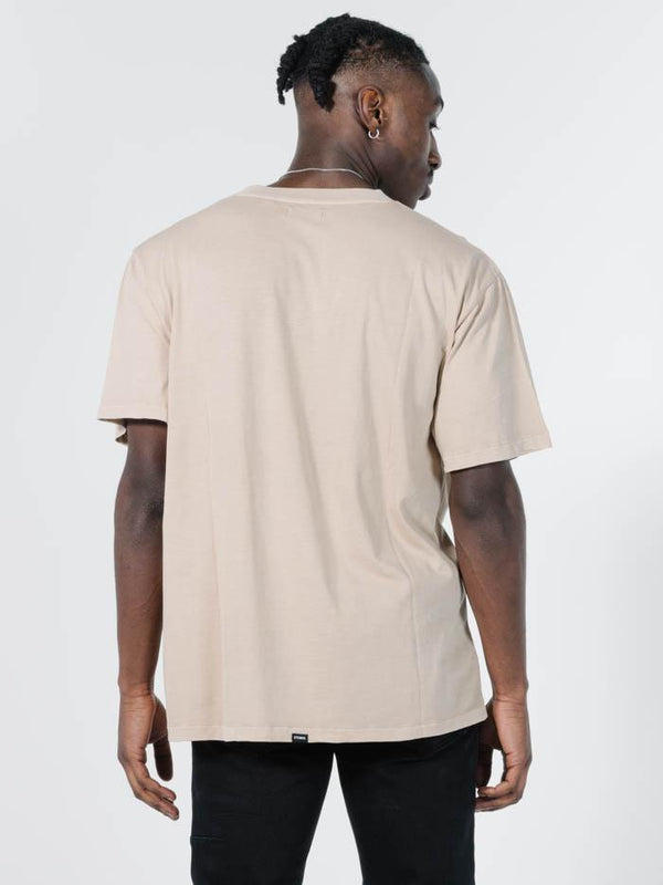 Minimal Thrills Merch Fit Tee - Oxford Tan