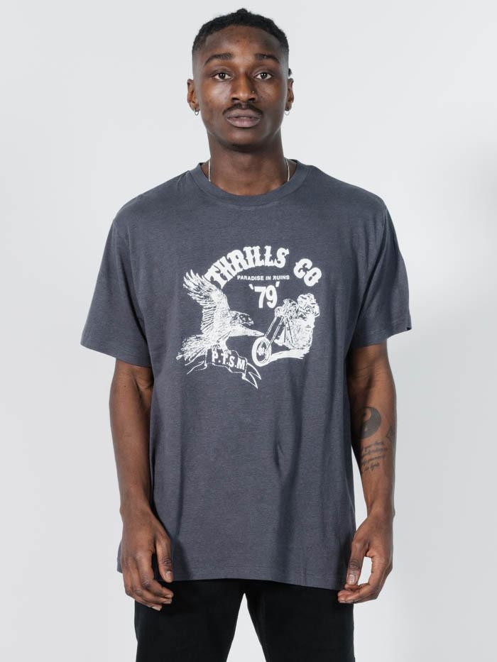 Highway 79 Merch Fit Tee - Vintage Black