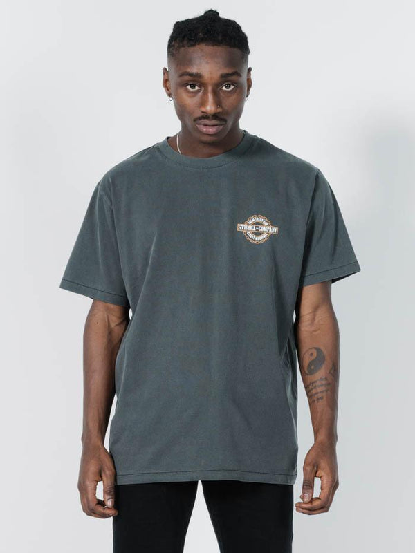 Chained Merch Fit Tee - Merch Black