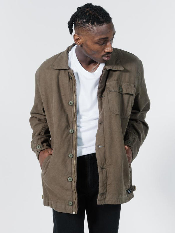 Legion Sherpa Jacket - Ivy Green