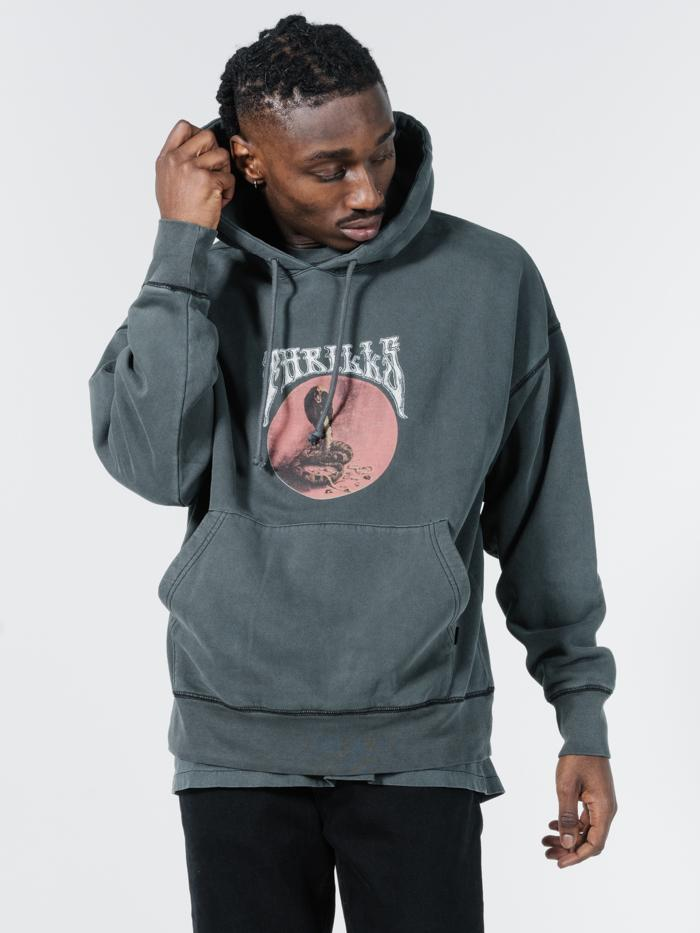 Hysteria Slouch Pull On Hood - Merch Black