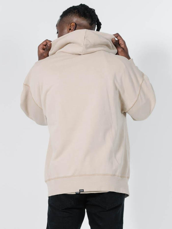 Minimal Thrills Slouch Pull On Hood - Oxford Tan