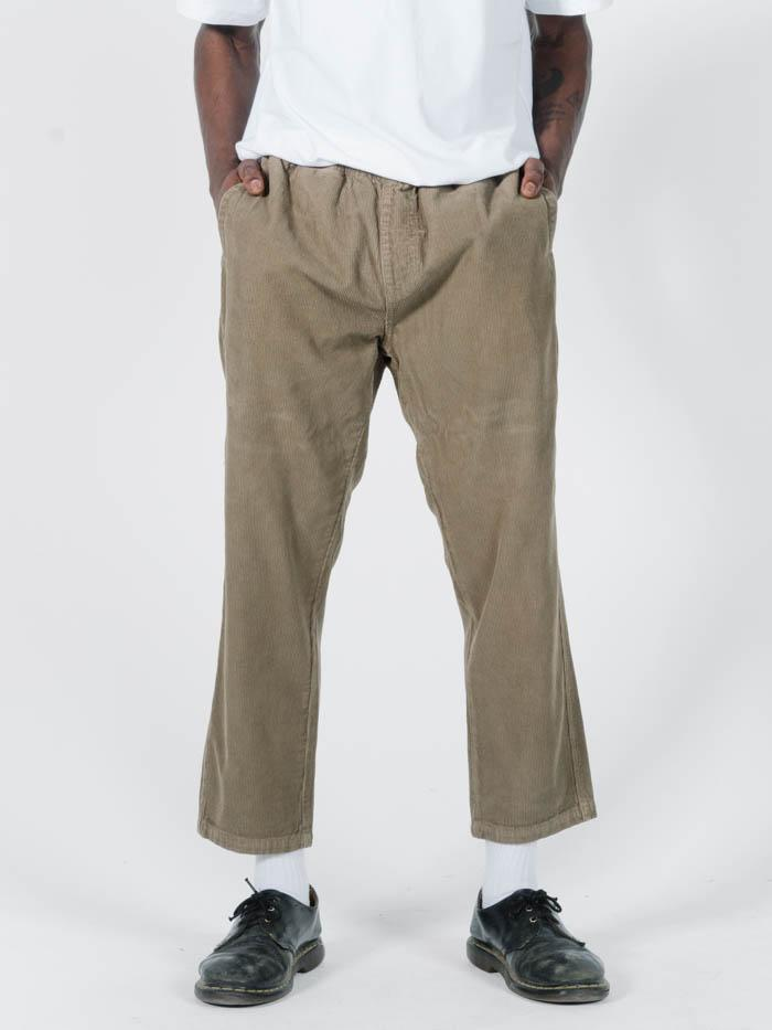 Stranded Cord Chopped Elastic Surf Pant - Wolf