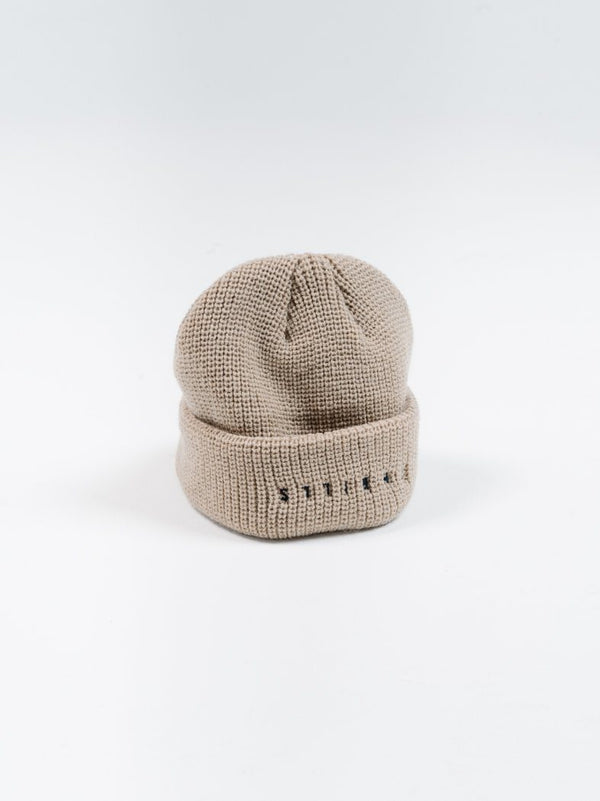 Minimal Thrills Beanie - Oxford Tan