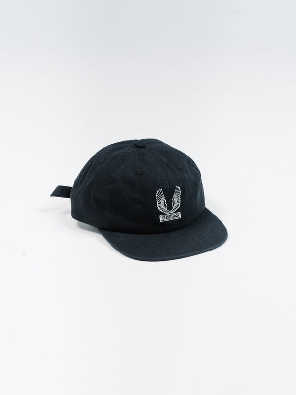 Wings Badge Cap - Black
