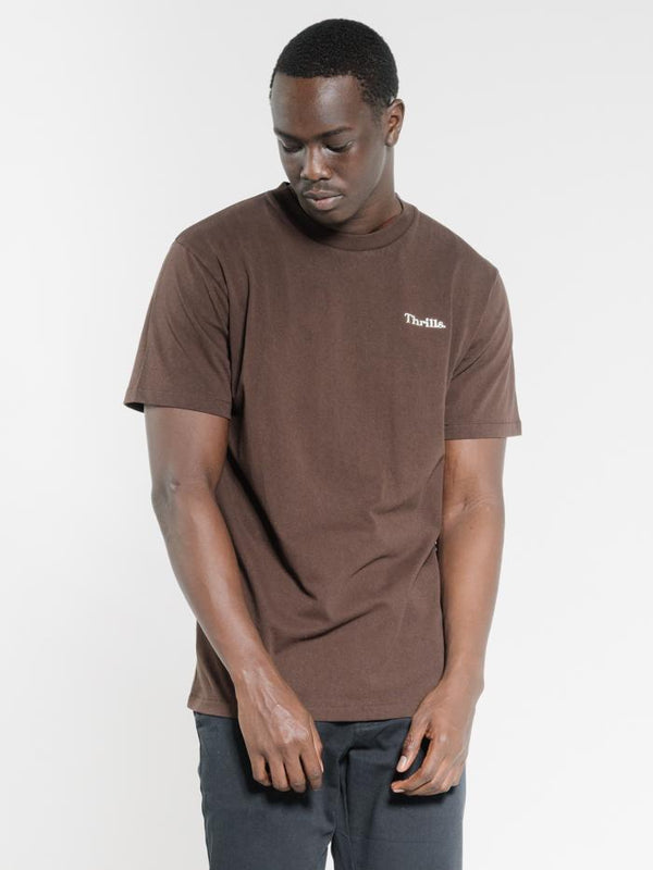 Enchantment Merch Fit Tee - Postal Brown