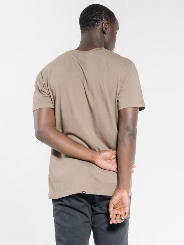 Company Pinline Stack Merch Fit Tee - Desert