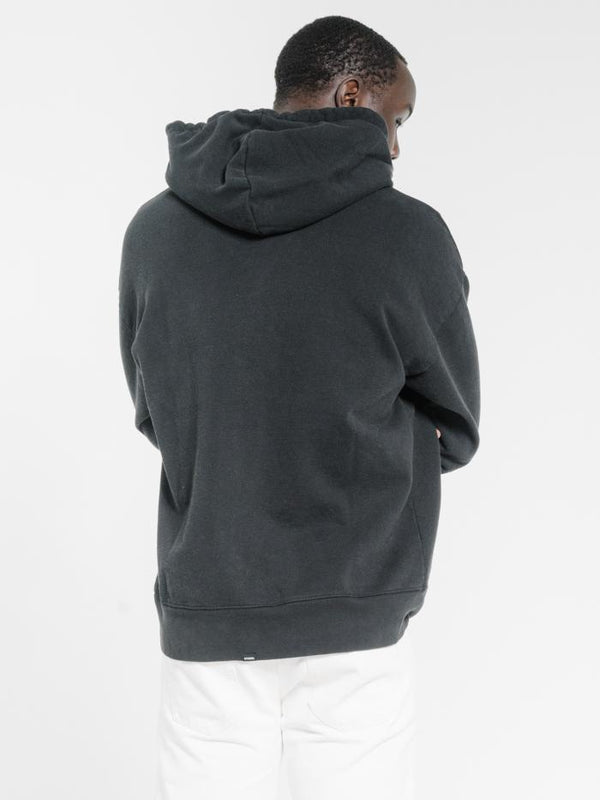 Power Trip Slouch Pull On Hood - Black