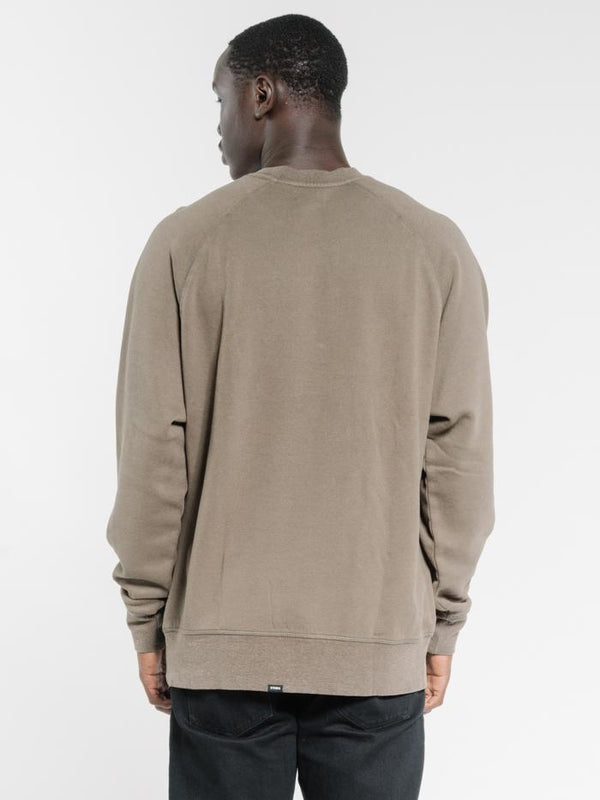 Endless Oversize Raglan Fit Crew - Military Green