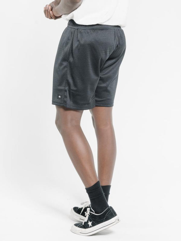 Hard Fast Loud Mesh Short - Black
