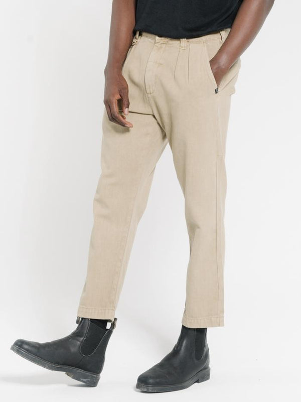 Work Shop Pant - Washed Tan