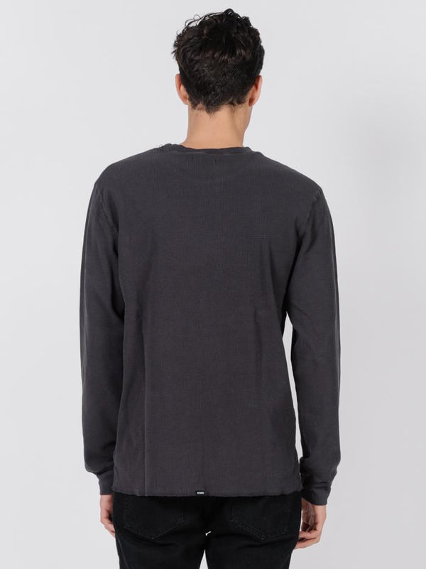 Troop Waffle Long Sleeve - Heritage Black