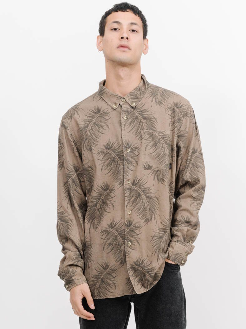 Winter Palm Long Sleeve Shirt -  Winter Palm