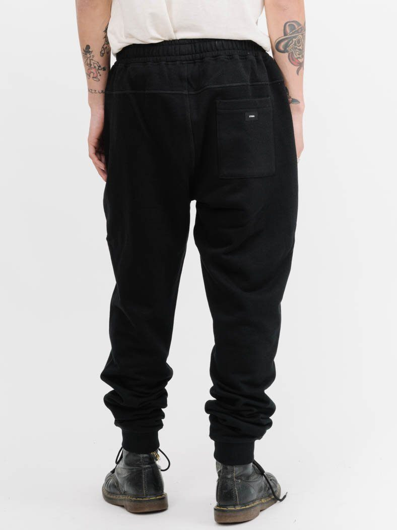 Scroll Company Tracksuit Pant -  Black