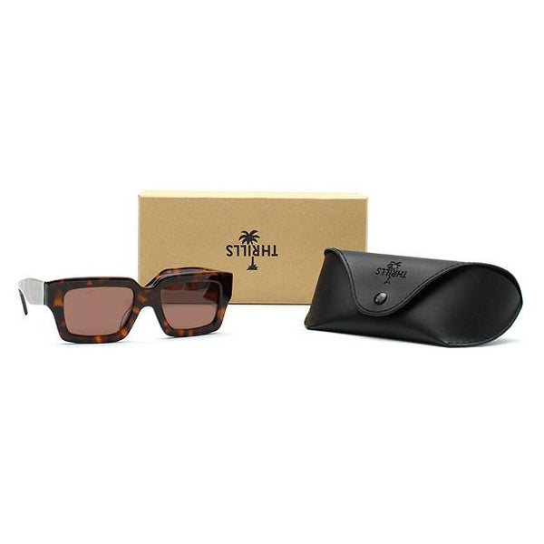 Thrills Co No.3 Tortoise Sunglasses - THRILLS CO - 2