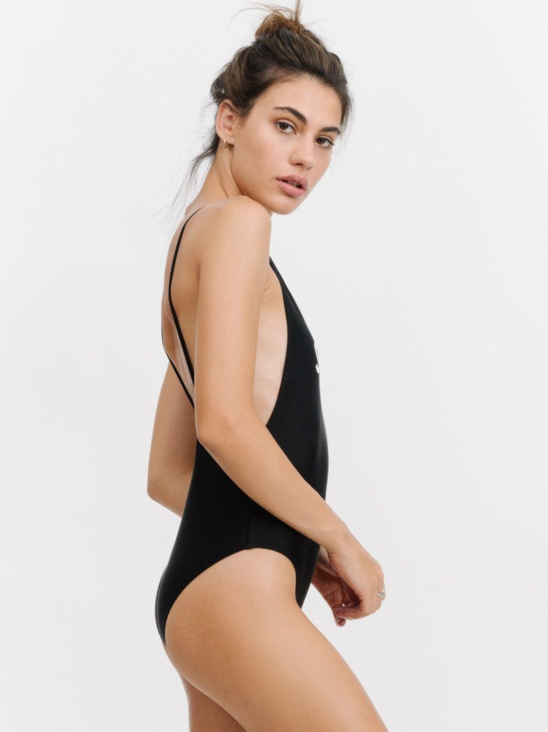 THRILLS LOGO CLASSIC ONE PIECE - BLACK