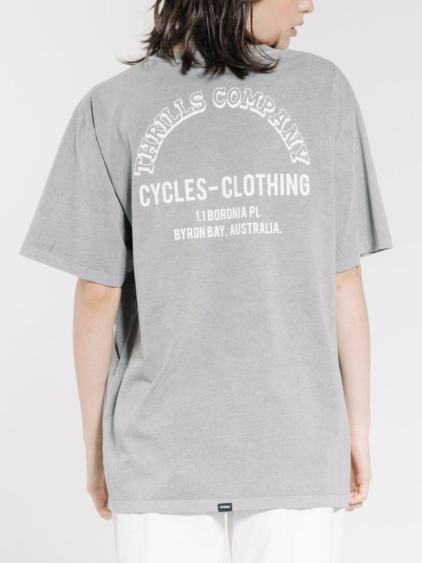 Faithful Merch Tee - Washed Grey