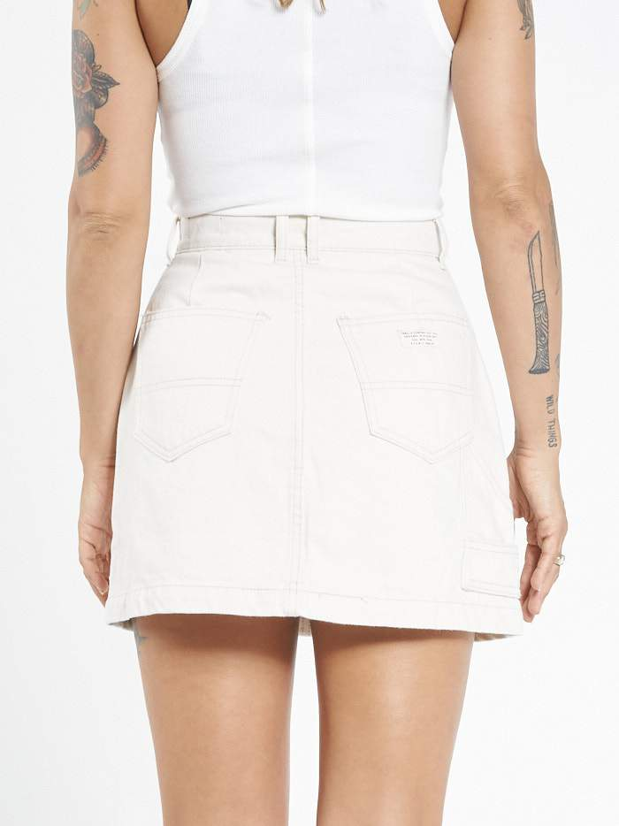 Carpenter Skirt - Unbleached